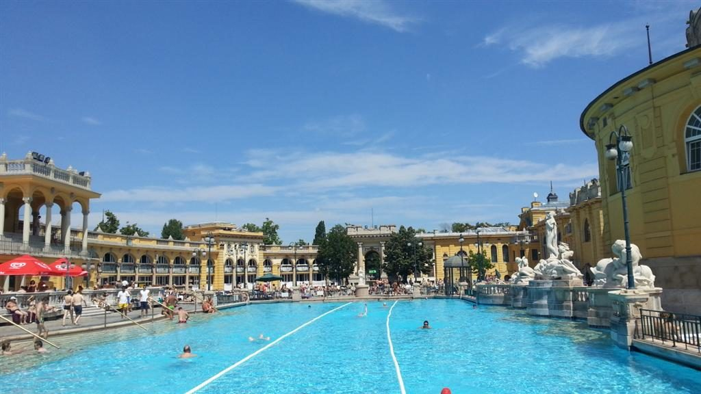 Széchenyi Bath Swimming Pool
