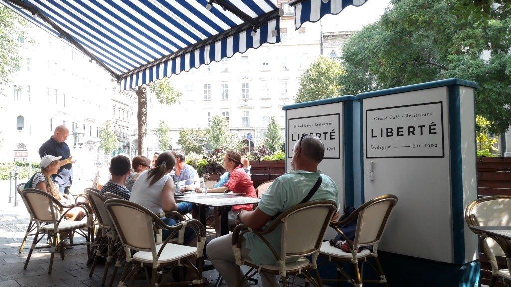 Liberté Grand Café terrace